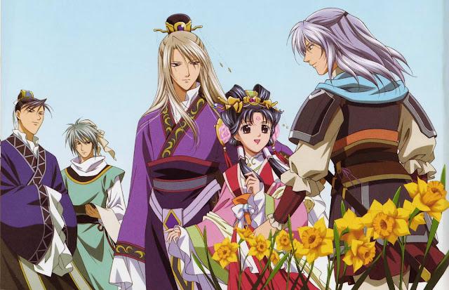 Saiunkoku Monogatari di Rekomendasi Anime Romance - Shoujo terbaik