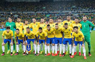 Seleção brasileir masculina de futebol olimpíco Rio 2016