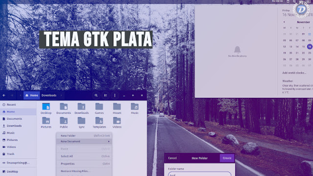 Veja como instalar o tema Plata, baseado no último lançamento do Material Design