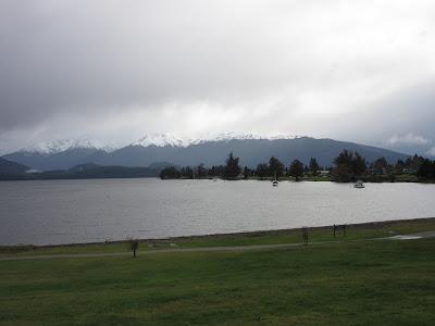 Lago Te Anau. Parque Nacional Fiordland, Nueva Zelanda