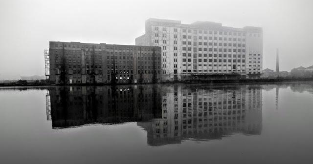 Derelict Millennium Mills Royal Victoria Docks