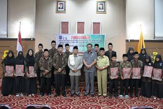 Penerimaan Kafilah STQ Tingkat Provinsi NTB Asal Kota Mataram
