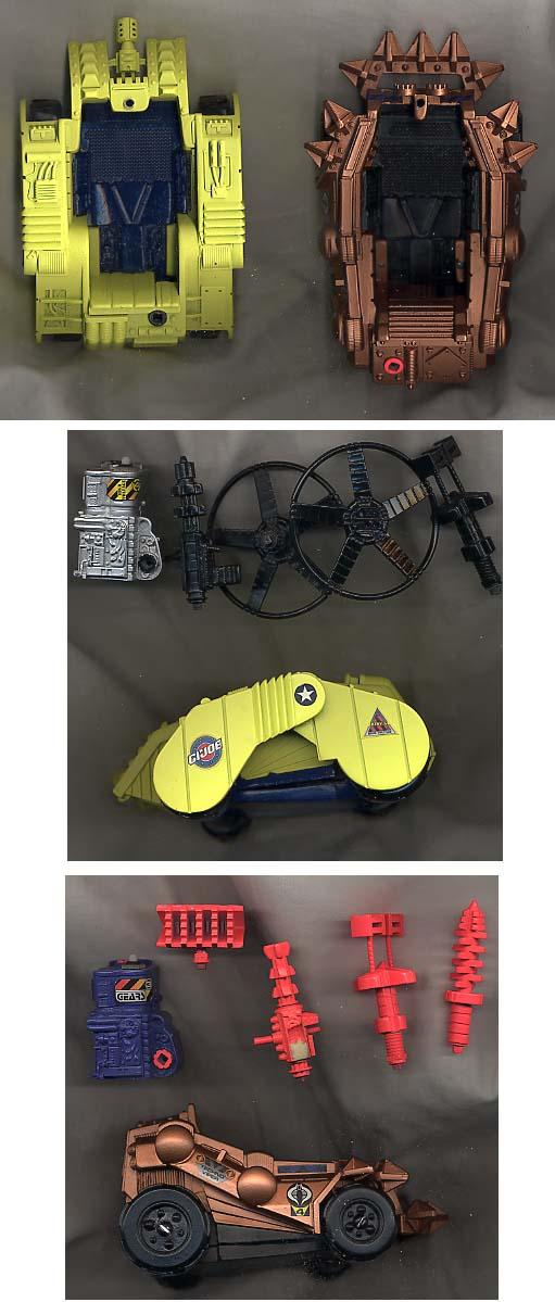 Unproduced G.I. Joe Vehicles, 1995