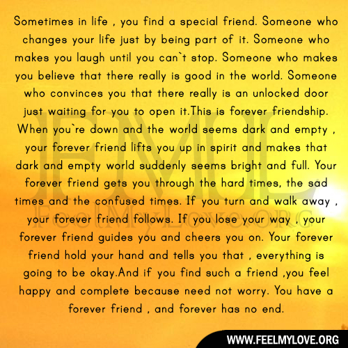 Special Friend Quote: Special Friend Quotes. QuotesGram