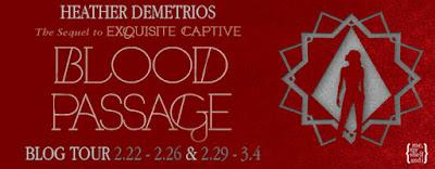Blog Tour: Blood Passage by Heather Demetrios ~ Spotlight + Giveaway (US)