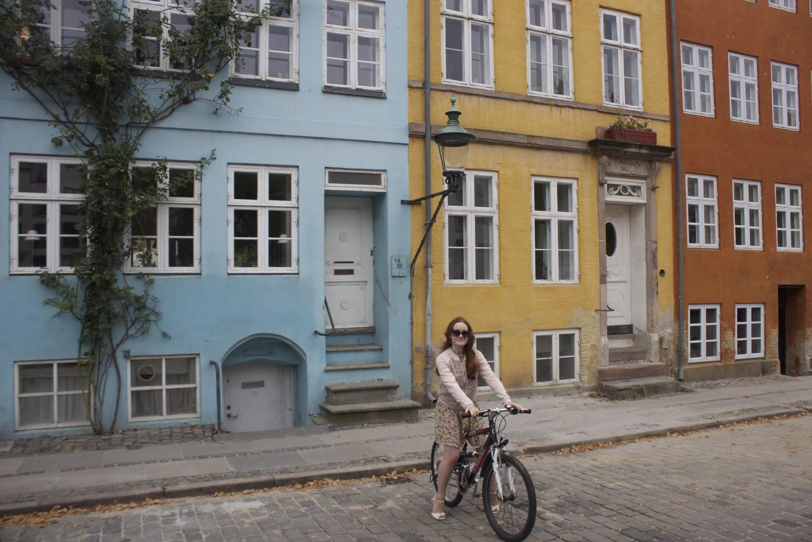 Cycling Copenhagen Denmark
