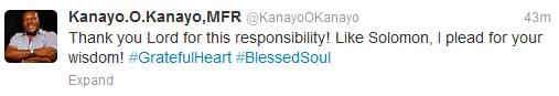 1 Nollywood To Politics: Kanayo O Kanayo Gets Appointment From President Jonathan