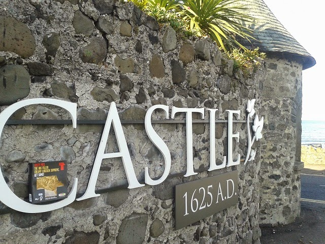Ballygally Castle with Tasty Pie