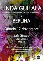 Concierto de Berlina y Linda Guilala en Siroco