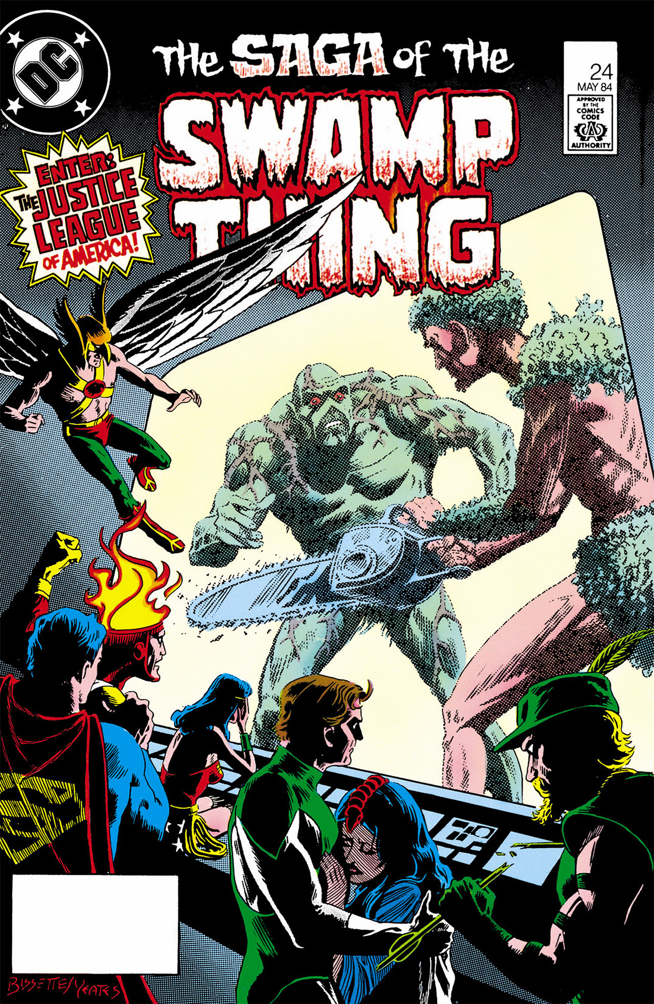 Swamp Thing (1982) Issue #24 #32 - English 1