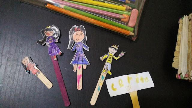 Membuat Boneka Tangan Dari Stik Es Krim