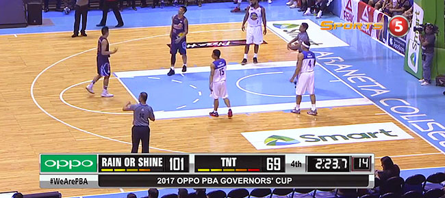 Rain or Shine def. TNT, 105-73 (REPLAY VIDEO) August 20