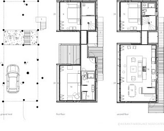 Prefabricated house floor plans, Taylors Island, Maryland