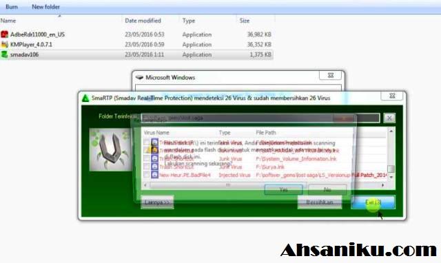 Cara Mengembalikan File Hilang di Flashdisk Karena Virus