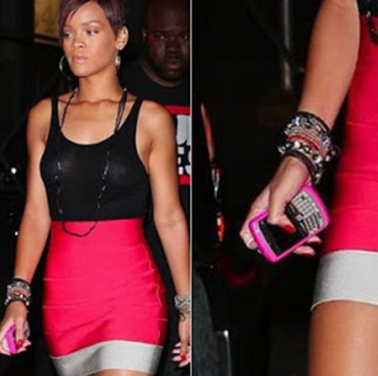 Rihanna use HTC One X, iPhone 5 SmartPhone
