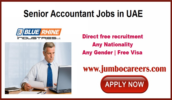 new accountant jobs for Indians, Current job openings in Dubai,