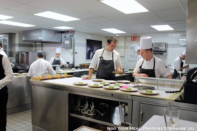 The Kitchen at Eleven Madison Park in New York City