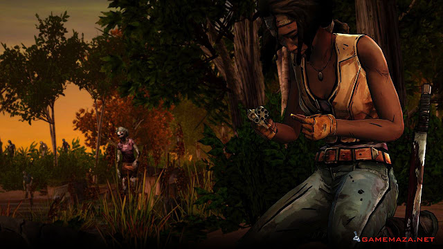 The Walking Dead Michonne Gameplay Screenshot 3
