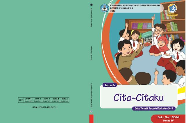 Buku K13 SD Kelas 4 Revisi 2017 Semester II