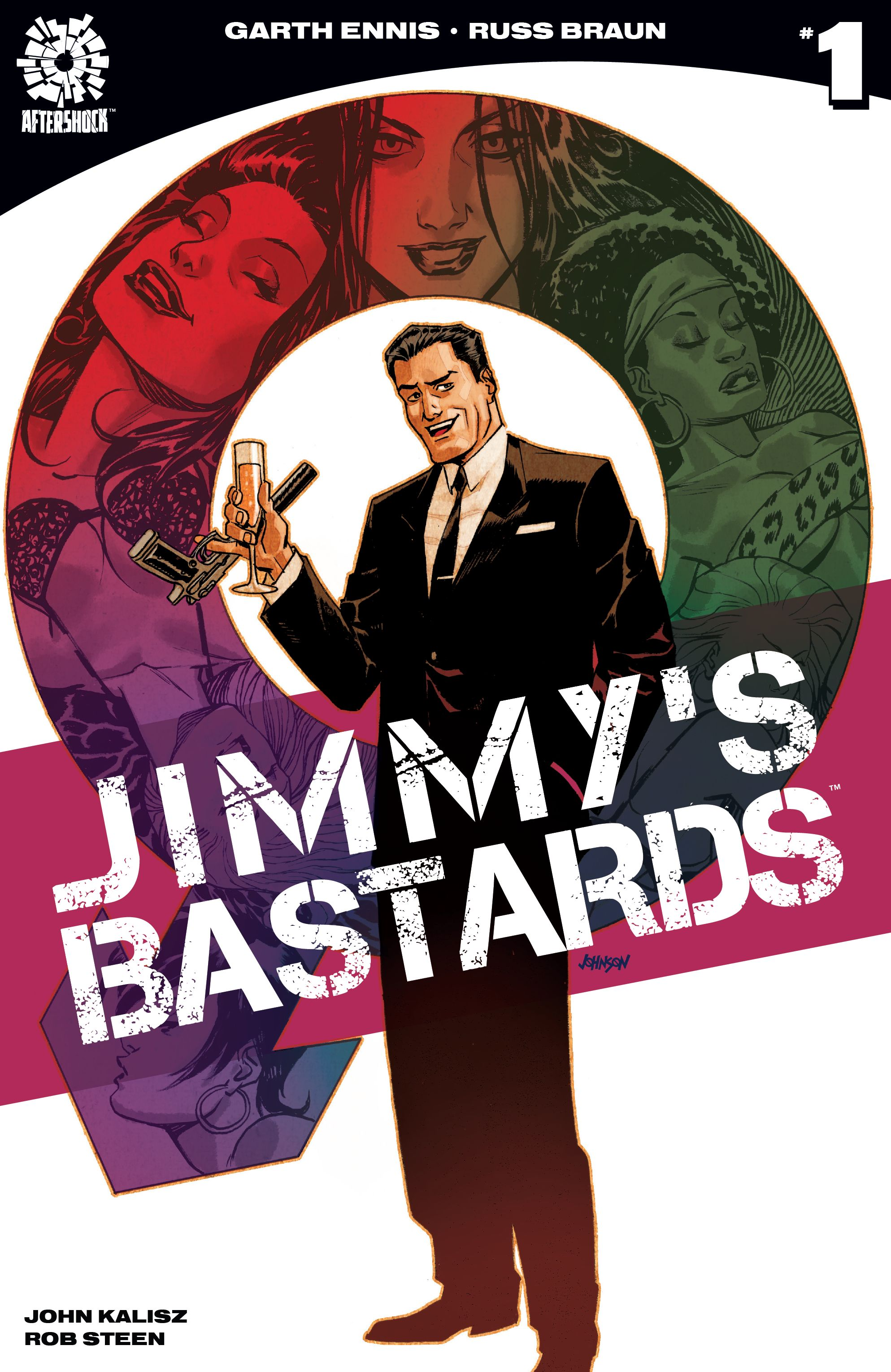 Read online Jimmy's Bastards comic -  Issue #1 - 1