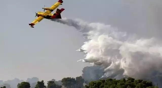 Καπανδρίτι: Μάχη με τις φλόγες, ανησυχία για τις συνεχείς αναζωπυρώσεις
