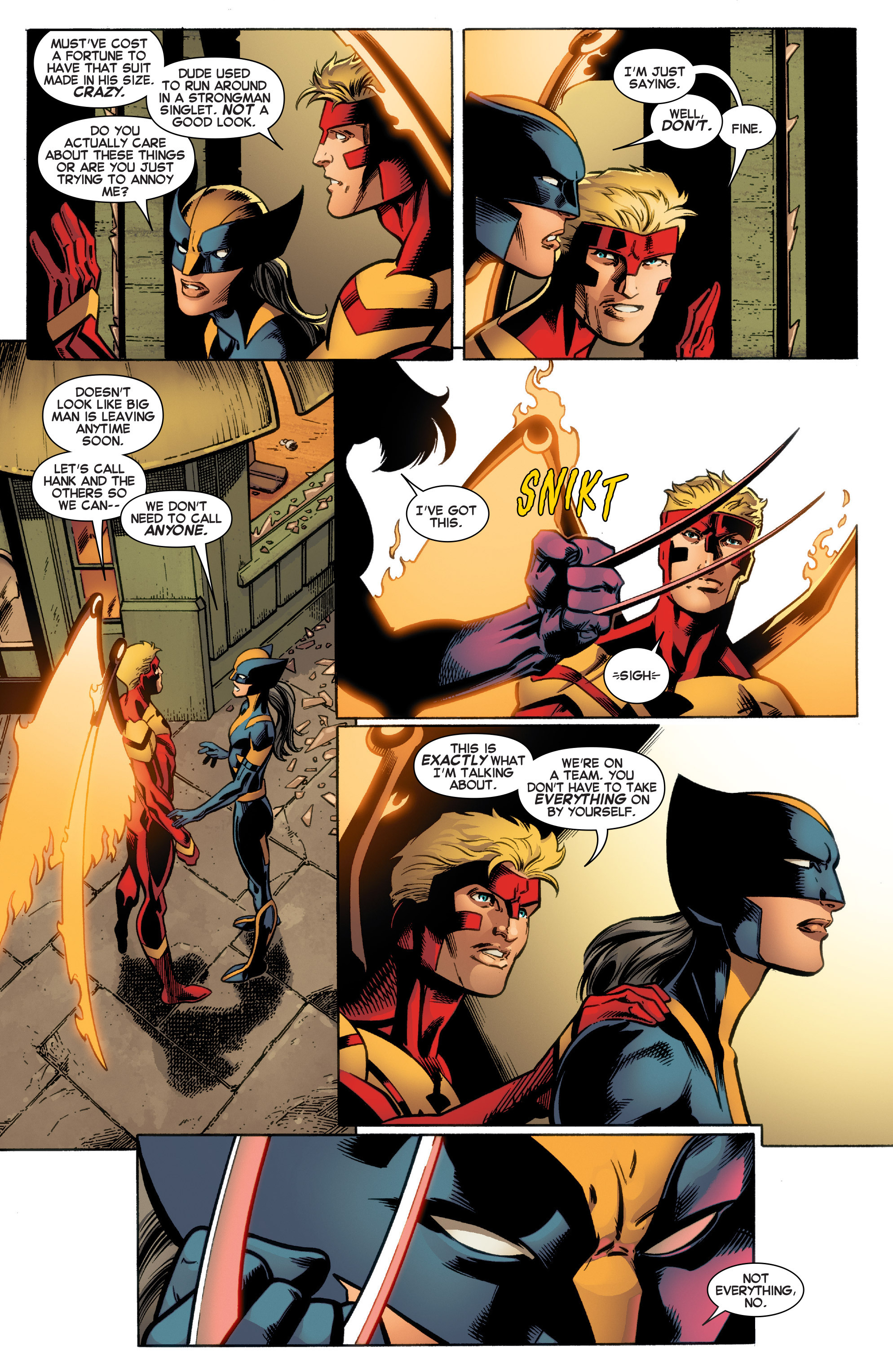 Read online All-New X-Men (2016) comic -  Issue #4 - 19