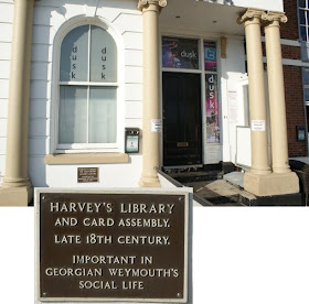 Harvey's library, Weymouth seafront