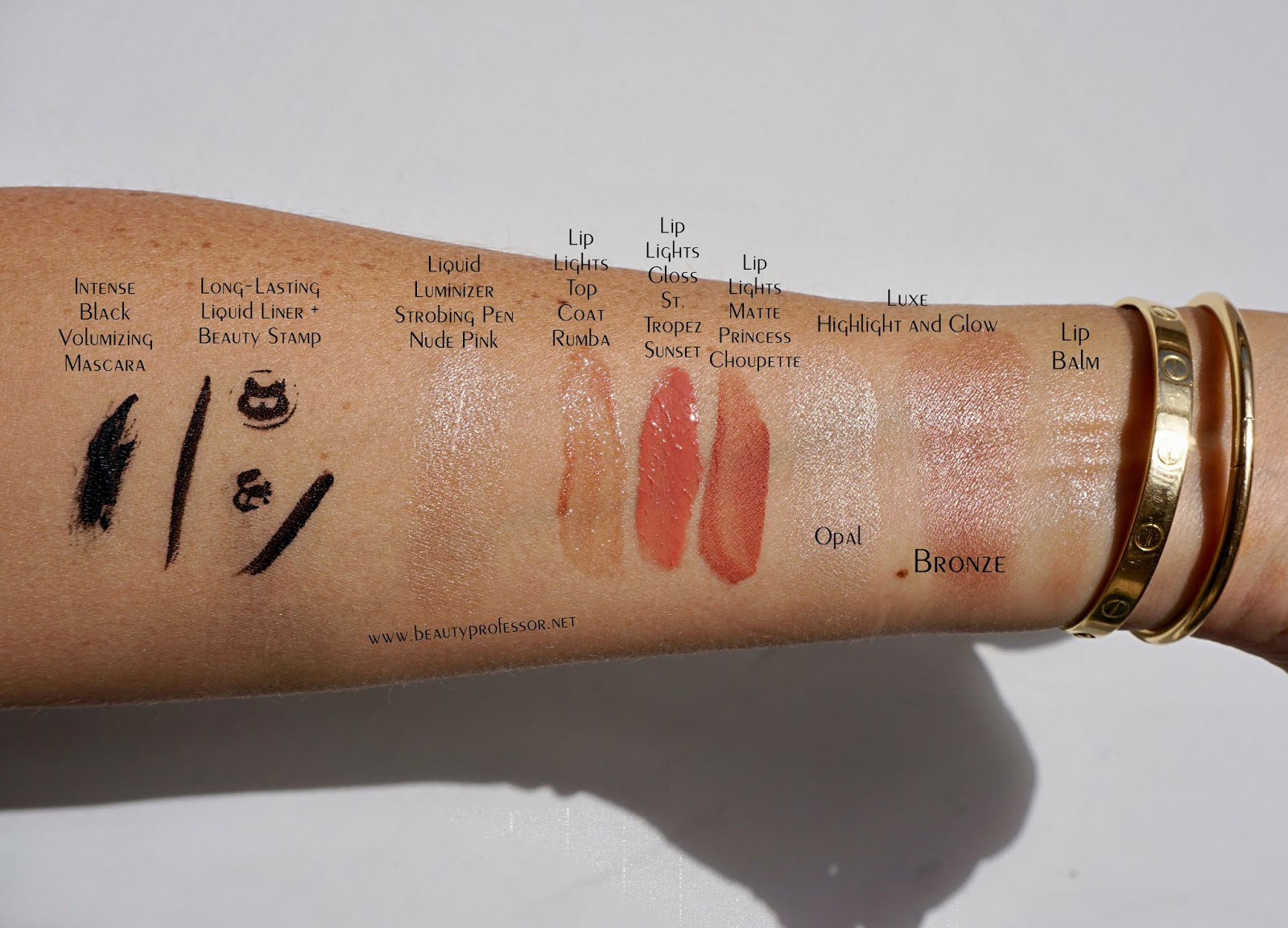 Karl Lagerfeld + Model Co. Collection swatches