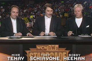 WCW Starrcade 1998 Review - Mike Tenay, Tony Schiavone, and Bobby 'The Brain' Heenan