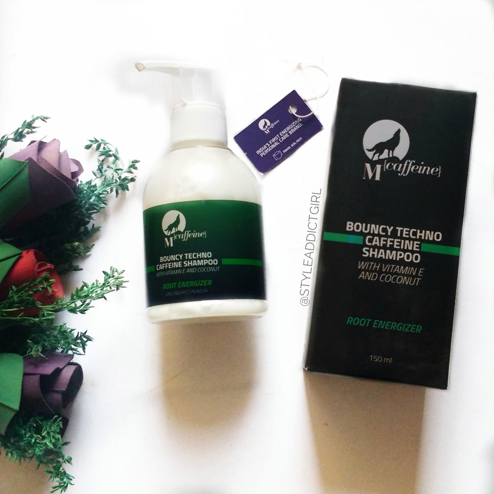 happy naturals caffeine shampoo review