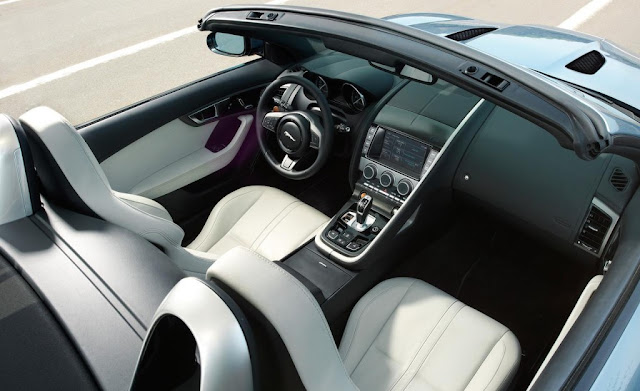 2013 Jaguar F-Type Roadster Interior