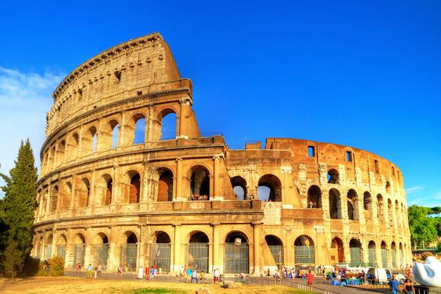 Coliseu de Roma na Itália