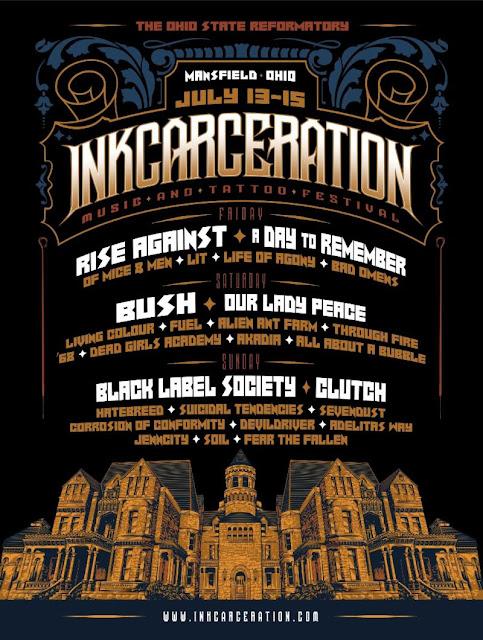 inkcarceration lineup