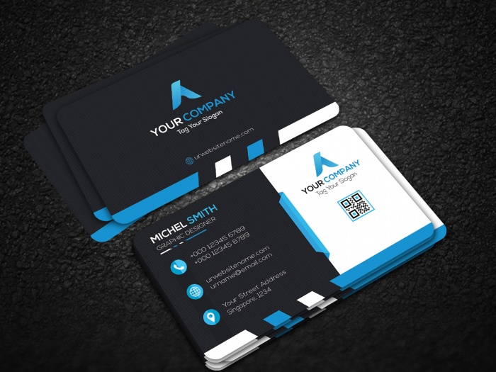 How to create a business card mockup in photoshop using smart how to create a business card mockup in photoshop using smart objects photoshop tutorial reheart Gallery