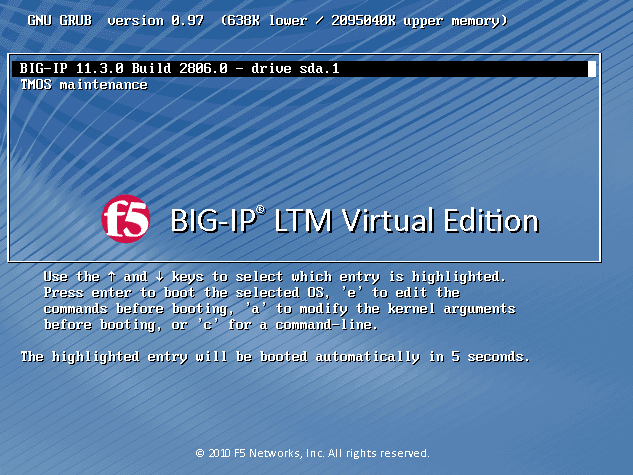 Cyber Security Memo: Download and Install F5 BIG-IP v11 x / Virtual