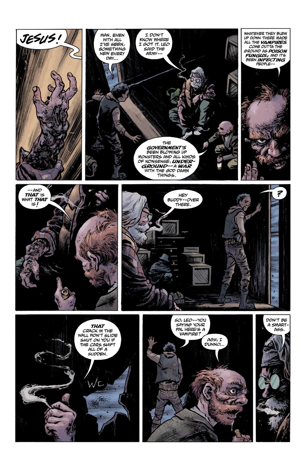 Read online Abe Sapien comic -  Issue #1 - 14