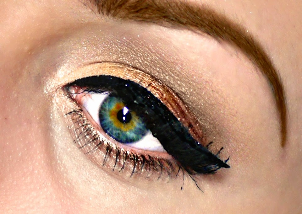 Pretty Chit Chat: Get The Look: Copper Brown Eyes - photo#10