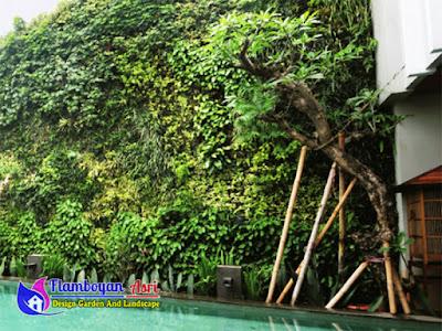 Taman Vertical Garden Surabaya