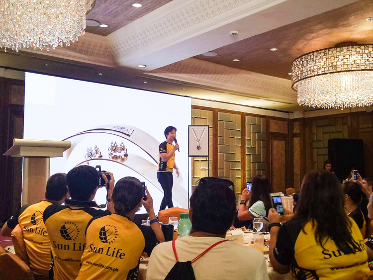 Sun Life Iron Man 70.3 Press Conference