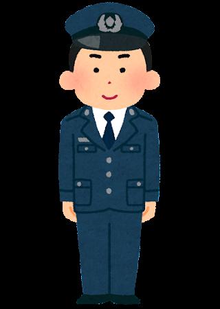 刑務官のイラスト(男性)