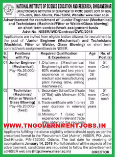 niser-technician-junior-engineer-employment-notification-tngovernmentjobs