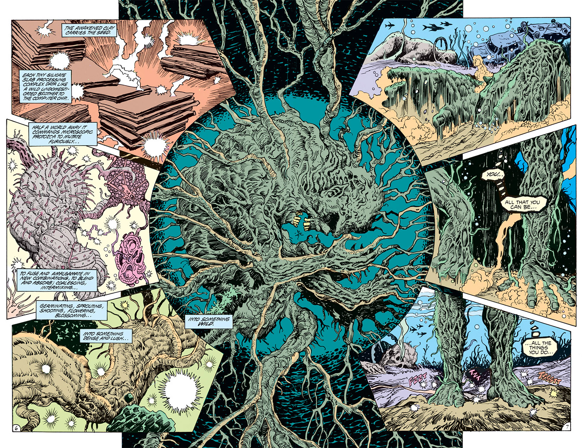 Swamp Thing (1982) Issue #69 #77 - English 5