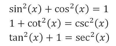 Jenis-Jenis Identitas dalam Trigonometri