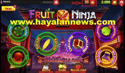 600 Chest golden apples fruit ninja gratis buat kamu