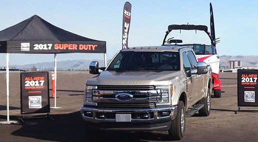 Ford wants you to register for one of their 2017 Ford Super Duty Drive Tour events and simply doing so will enter you to win a brand new Super Duty Truck worth $60,000!