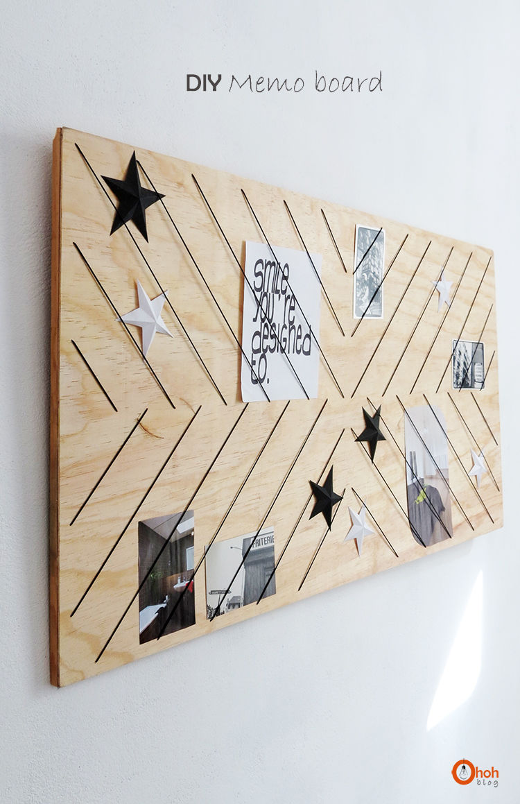 DIY Memo board  Ohoh deco