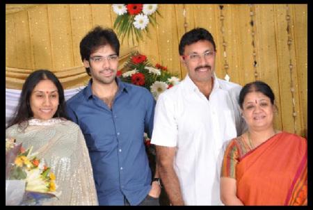 Sathyaraj  family