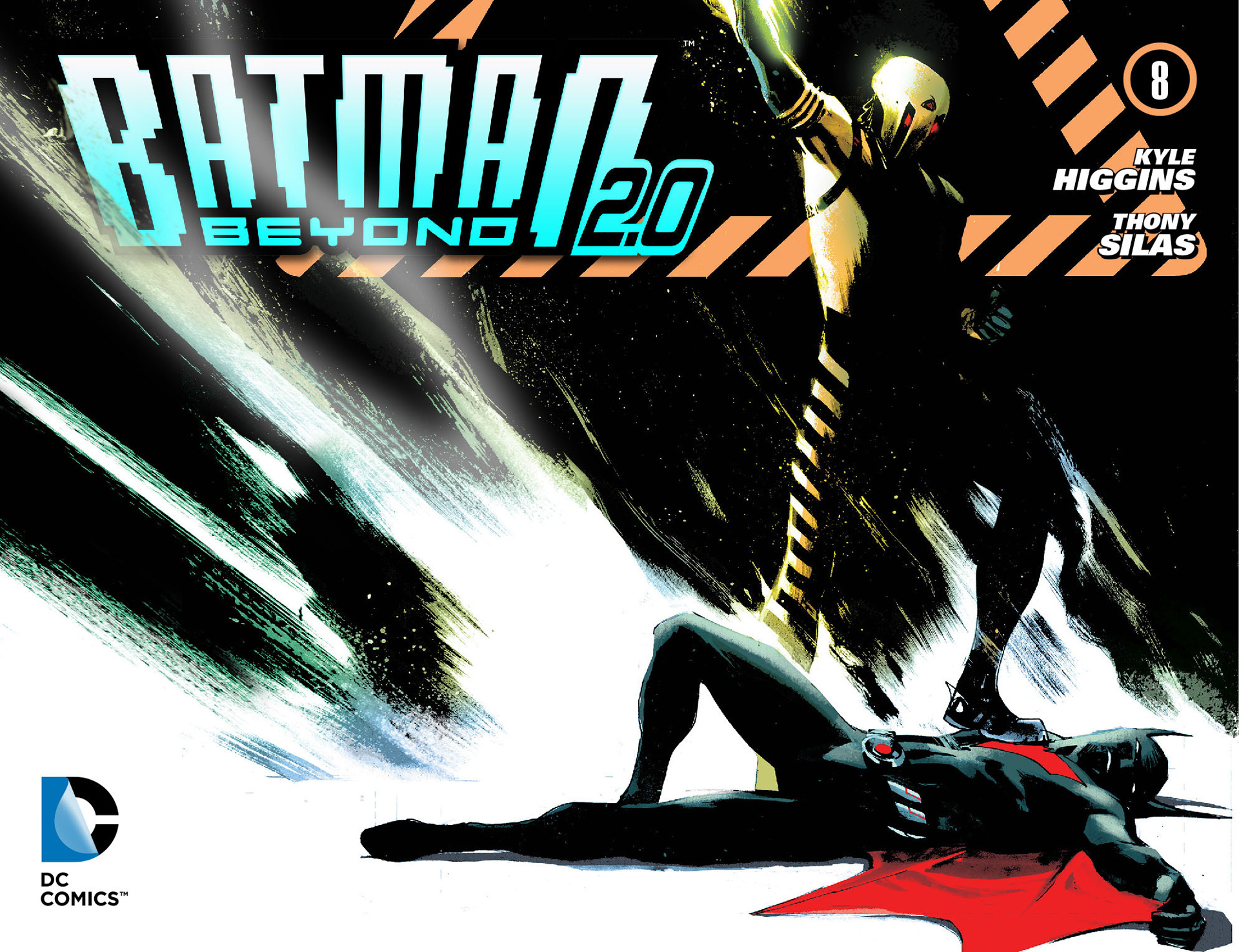Batman Beyond 2.0 8 Page 1