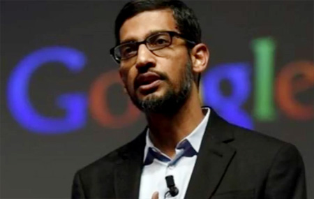 Google CEO Sundhar Pichai's Salary is been reduced