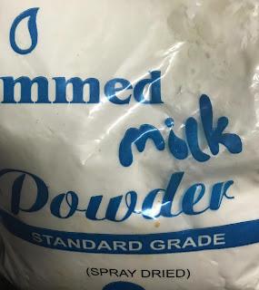 skimmed milk, gajar ka halwa